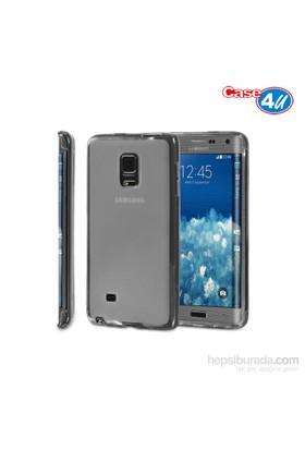 Case 4U Samsung Galaxy Note Edge Soft Silikon Kılıf Şeffaf