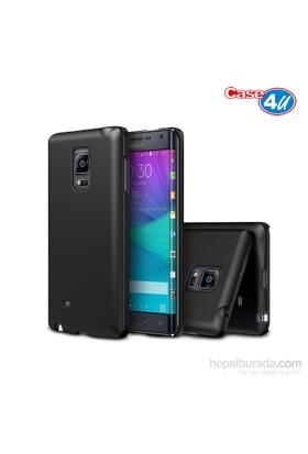 Case 4U Samsung Galaxy Note Edge Soft Silikon Kılıf Siyah