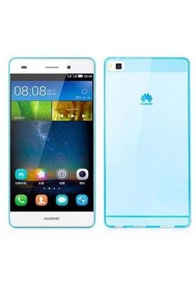 Teleplus Huawei Ascend P8 Mavi Silikon