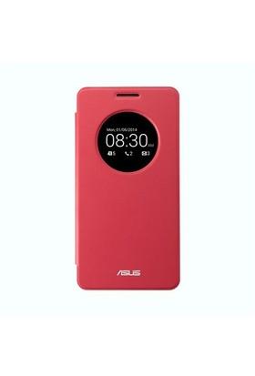 Asus ZenFone 5 View Flip Cover Akıllı Kılıf Kırmızı - 90XB00RA-BSL0M0
