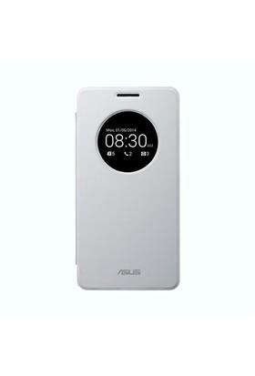 Asus ZenFone 6 View Flip Cover Beyaz - 90XB00RA-BSL0P0