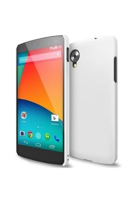 Microsonic Rubber Kılıf Lg Google Nexus 5 Beyaz