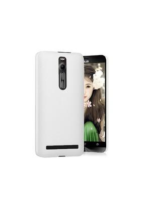 Microsonic Premium Slim Asus Zenfone 2 (5.5'') Kılıf Beyaz