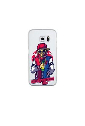 Remeto Samsung S6 Edge Plus Silikon Harlemli Rapçi Maymun
