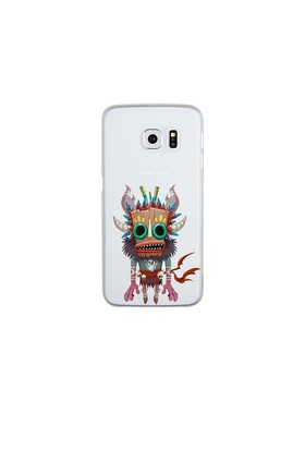 Remeto Samsung S6 Edge Plus Silikon Maskeli Kızılderili