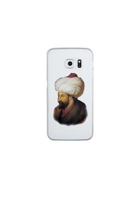 Remeto Samsung Galaxy S6 Edge Şeffaf Transparan Silikon Resimli Fatih Sultan Mehmet