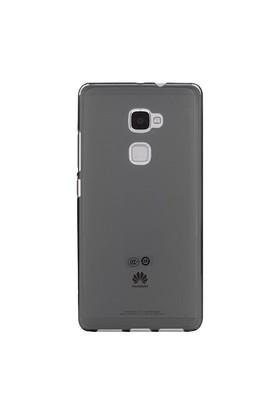 Teleplus Huawei Mate S Silikon Kılıf Siyah +Temperli Cam Ekran Koruyucu