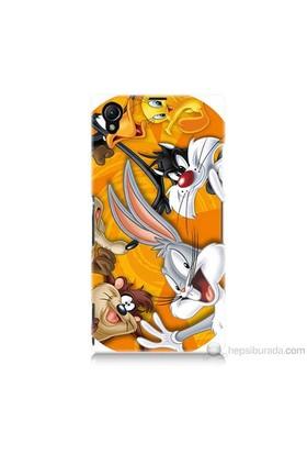 Teknomeg Sony Xperia Z1 Kapak Kılıf Disney Karakterleri Baskılı Silikon