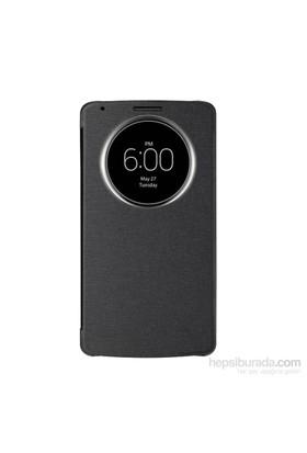 Case 4U LG G3 Flip Cover Siyah ( Uyku Modlu)