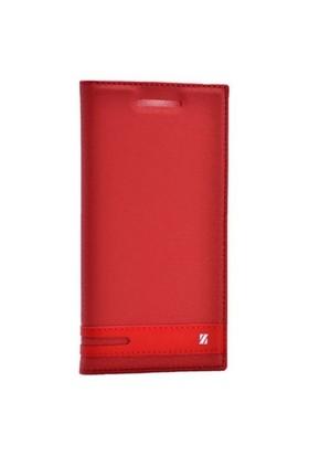 Teleplus Htc 10 Mıknatıslı Lux Kapaklı Kılıf Kırmızı