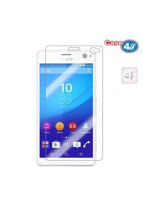 Case 4U Sony Xperia C4 Ultra Şeffaf Ekran Koruyucu*