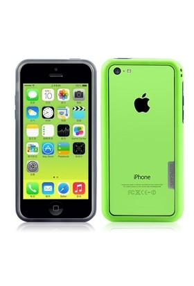iPearl Apple iPhone 5C Kılıf - Yeşil Ice-Splendor Frame