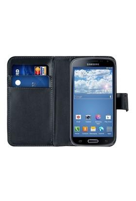 Microsonic Cüzdanlı Deri Samsung Galaxy K Zoom (S5 Zoom) Kılıf Siyah