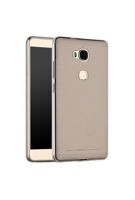 Microsonic Huawei Gr5 (Honor 5X/X5) Kılıf Transparent Soft Siyah