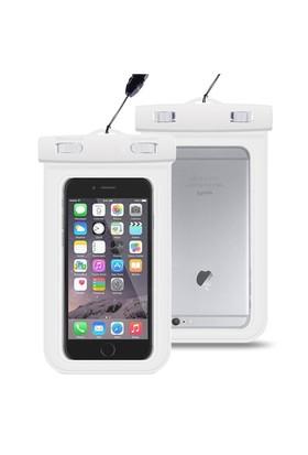 Microsonic iPhone 6 Su Geçirmez Kılıf Beyaz - CS100-WTRPRF-BYZ