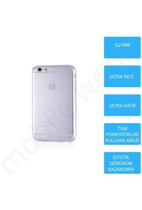 Mobile World iPhone 6 Plus Silikon + Cam Ekran Koruyucu + Kalem Seti Şeffaf - 2844