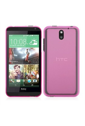 Microsonic Transparent Soft Htc Desire 610 Kılıf Pembe