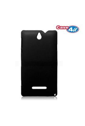 Case 4U Sony Xperia E Arka Kapak ( Siyah )