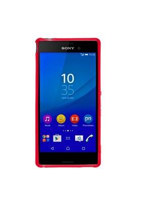 Case 4U Sony Xperia M4 Aqua Soft Silikon Kılıf Kırmızı*