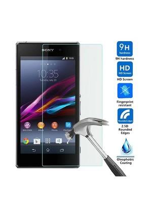 Case 4U Sony Xperia Z1 Glass Cam Ekran Koruyucu