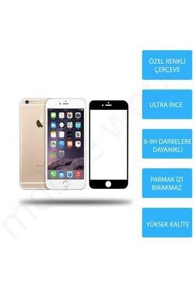 Mobile World iPhone 6 Renkli Cam Ekran Koruyucu Siyah - 2561