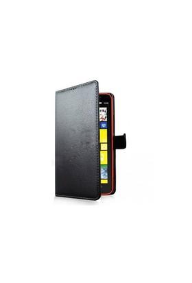 Teleplus Nokia Lumia 1320 Cüzdanlı Kılıf Siyah