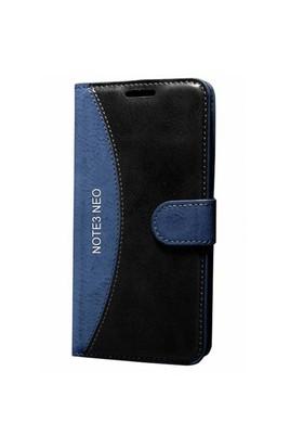 Gpack Samsung Galaxy Note 3 Neo Kılıf Standlı Cüzdan (Lacivert)