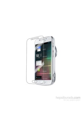 Case 4U Samsung Galaxy S4 Zoom Ekran Koruyucu ( Ultra Şeffaf Parmak izi bırakmaz )
