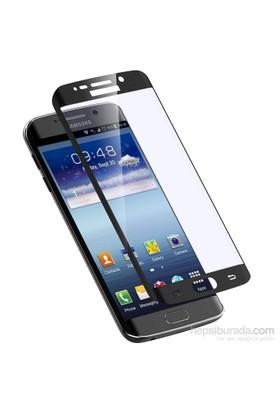 Ksp Samsung Galaxy S6 Edge Kavisli Cam Ekran Koruyucu - Siyah