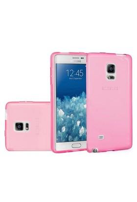 Teleplus Samsung Galaxy Note Edge Silikon Kılıf Pembe