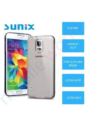 Sunix Samsung Galaxy Note 5 Cam Ekran Koruyucu + Ultra İnce Silikon Kapak Şeffaf