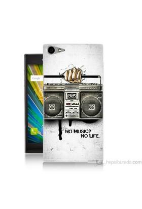 Teknomeg Casper Via V9 Kapak Kılıf Müzik Hayattır Baskılı Silikon