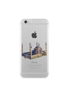 Remeto Samsung Galaxy Note 4 Transparan Silikon Resimli Sultan Ahmet Cami