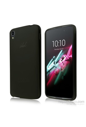 Teleplus Alcatel İdol 3 5.5 İnç Silikon Kılıf Siyah