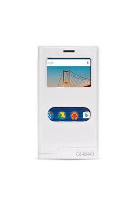 Fitcase Dolce One 4G Gizli Mıknatıslı Pencereli Kılıf Beyaz