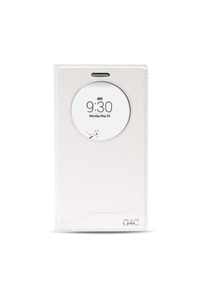 Fitcase Dolce Lg G4c Mini Gizli Mıknatıslı Pencereli Kılıf Beyaz
