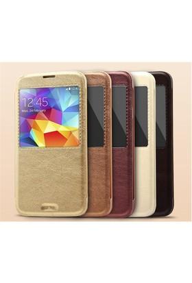 Qapaq Kalaideng Ka Serisi Kılıf Samsung S5 Beyazuz244434008701