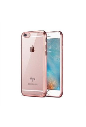 Teleplus İphone 6S Plus Lazer Silikon Kılıf Rose Gold