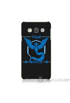 Teknomeg Samsung Galaxy A3 Kapak Kılıf Pokemon Team Mystic Baskılı Silikon