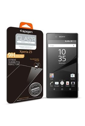 Spigen Sony Xperia Z5 Screen Protector GLAS.tR SLIM Cam Ekran Koruyucu - 11777