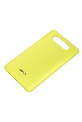Nokia CC-3041 Lumia 820 Kablosuz Şarj Kapağı Sarı