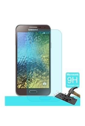 Microsonic Samsung Galaxy E5 Temperli Cam Ekran Koruyucu - SG106-GLSS-GLX-E5