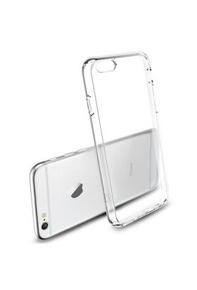 Mycolors Apple iPhone 6 Plus Şeffaf İnce Silikon Arka Kapak - MYC-0005