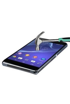 Markaawm Sony Xperia Z3 Ekran Koruyucu Z3 Temperli Cam