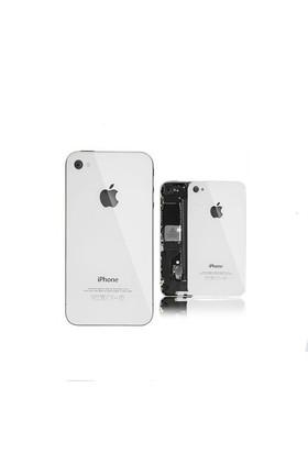 Kılıfshop İphone 4S Cam Arka Batarya Kapağı