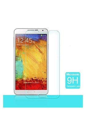 Microsonic Temperli Cam Ekran Koruyucu Samsung Galaxy Note 3 N9000