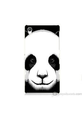 Teknomeg Sony Xperia Z2 Kapak Kılıf Panda Baskılı Silikon