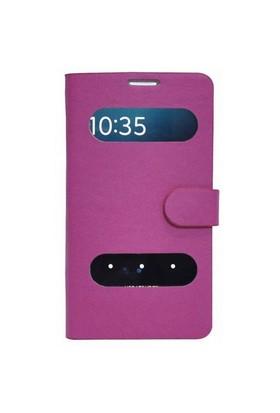 Qapak Mila Samsung Note 3 Pembe Kılıf + Ekran Koruyucu Hediyeli uz244434009442