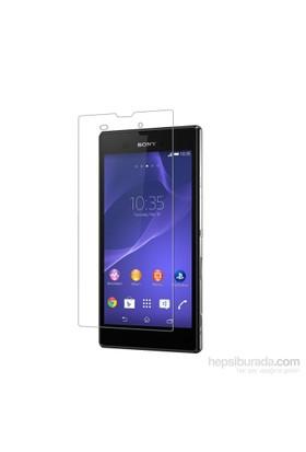 Case 4U Sony Xperia T3 Ultra Şeffaf Ekran Koruyucu*