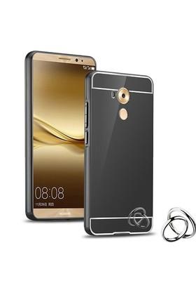 Microsonic Huawei Mate 8 Kılıf Luxury Mirror Siyah